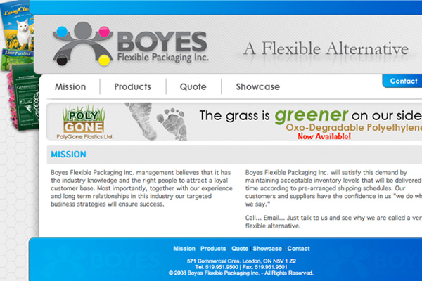Boyes Flexible Packaging Inc.