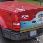 BFP Truck Sign