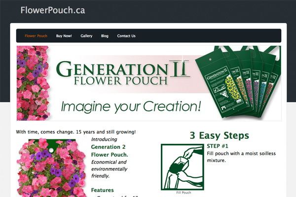 Generation 2 - Flower Pouch