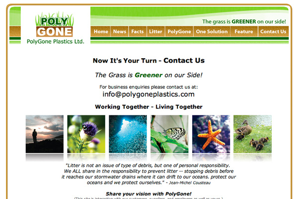 PolyGone Website