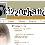 Scizzorhands Website
